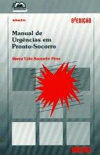 Manual de Urgências em Pronto-Socorro, Erazo, 6ª Ed.