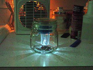 dollar store solar jar