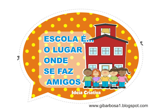 Cartaz para Pátio de Escola Frases de Paulo Freire