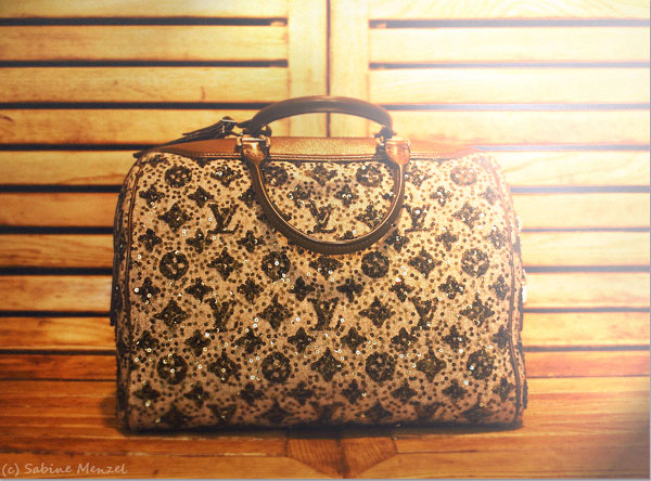 Psynopsis Louis Vuitton Sequined Bag