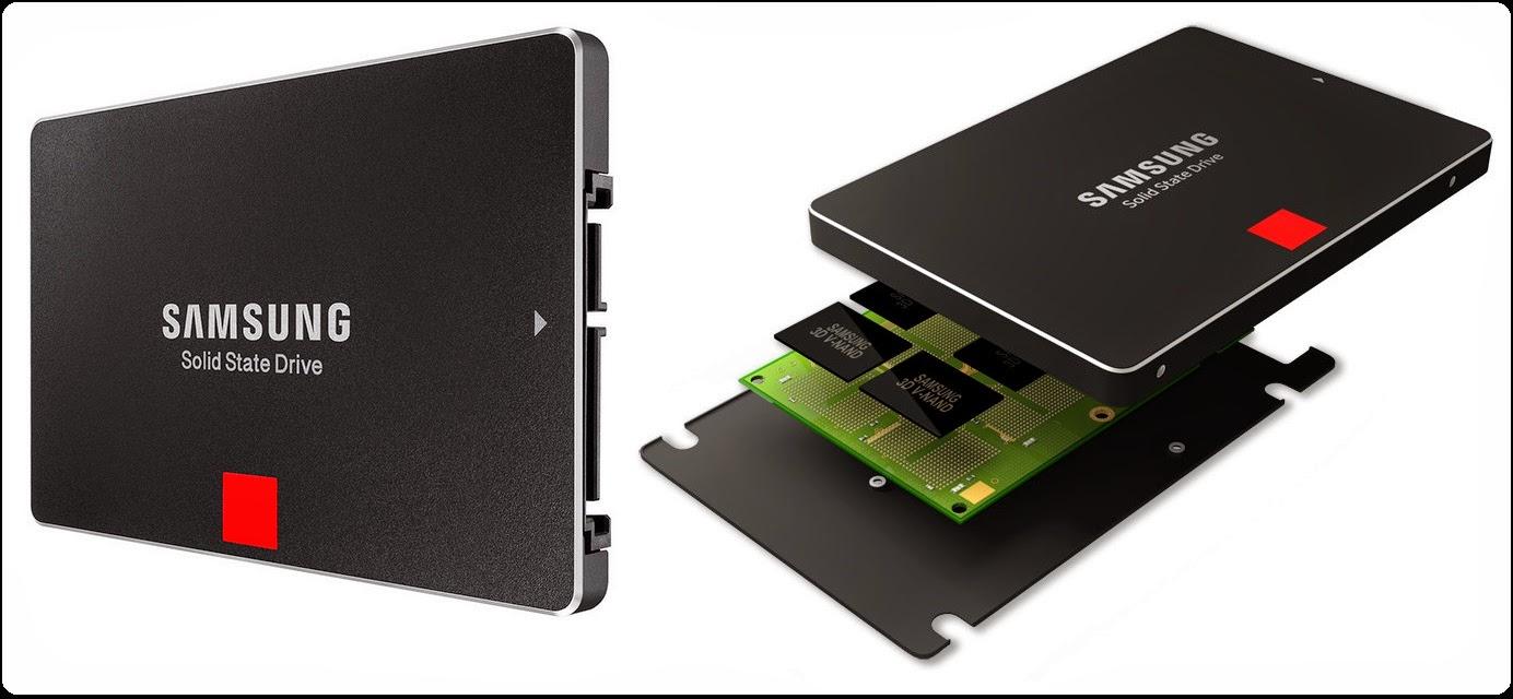 SSD Samsung 850 PRO dengan Teknologi V-NAND