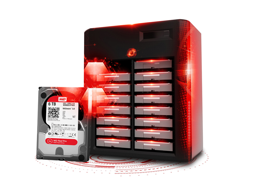 WD Red Pro Hard Drives Now Available in 5TB & 6TB Capacities