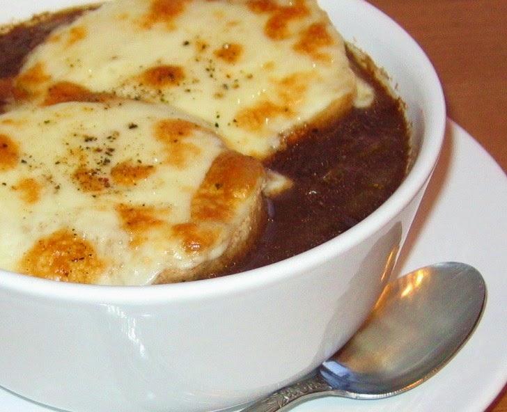 Katia au pays des merveilles 33 recettes d 39 automne - Soupe a l oignon gratinee ...