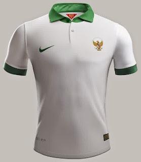 gambar jersey indonesia away terbaru piala aff 2014 Vietnam