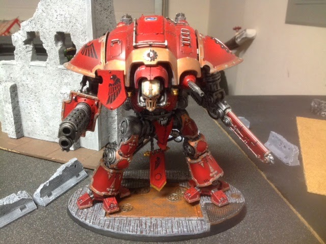 Battlefleet Gothic and Imperial Knight Projects