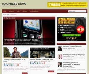 Brelian WordPress Theme