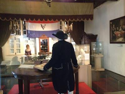 casa del gobernador holandés en Malaca.
