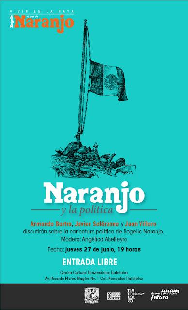 Debate sobre el trabajo del caricaturista Rogelio Naranjo en el CCU Tlatelolco
