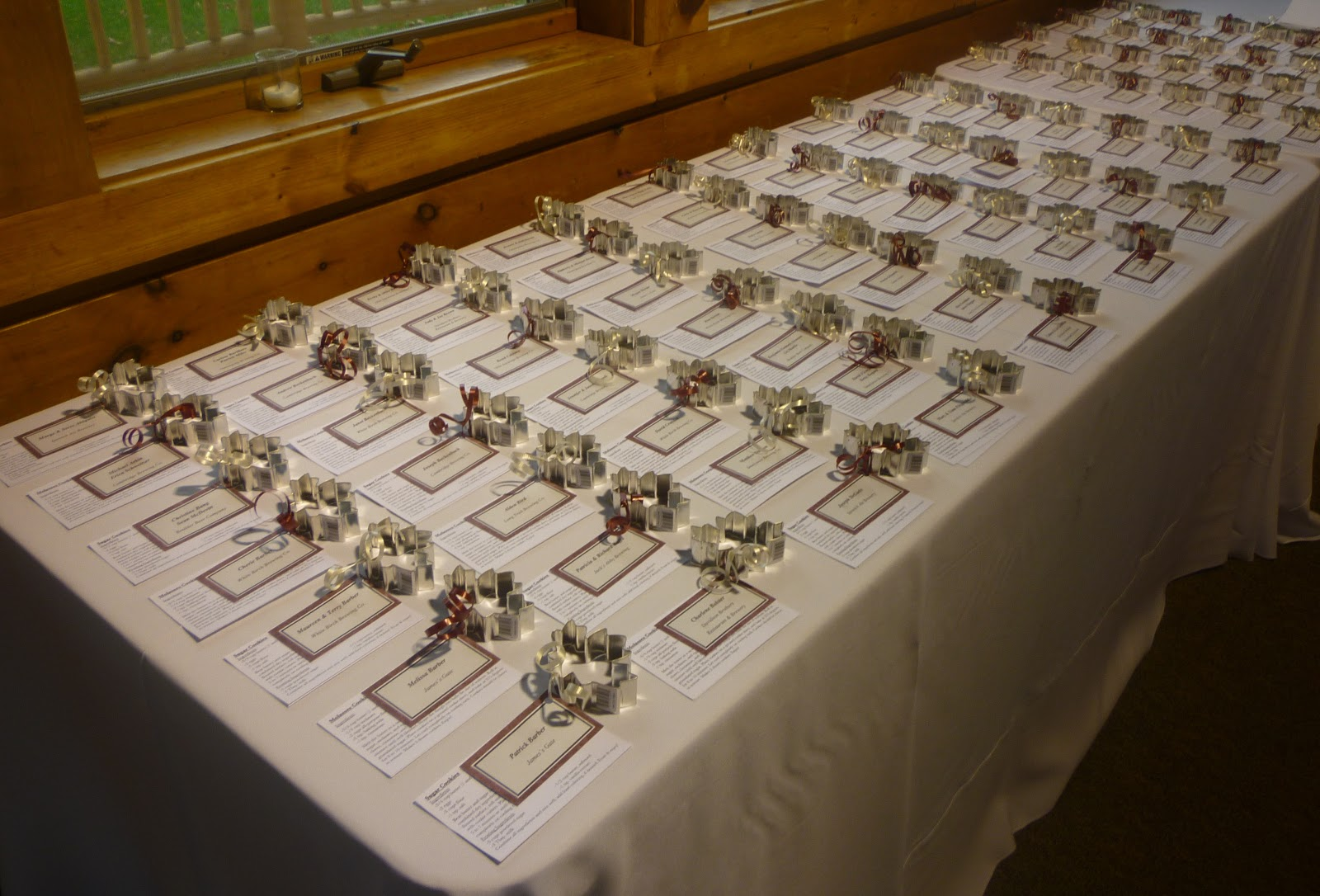 Whats Baking In The Barbershop Wedding Wednesdays Favors Part