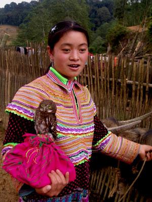 Miao tribos Hmong do Sapa (Vietnã)