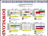 Download Aplikasi Kalender Pendidikan Otomatis.xls