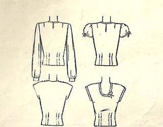 Flashback Summer:  1944 Perfect Summer Shirt (Simplicity 1093)