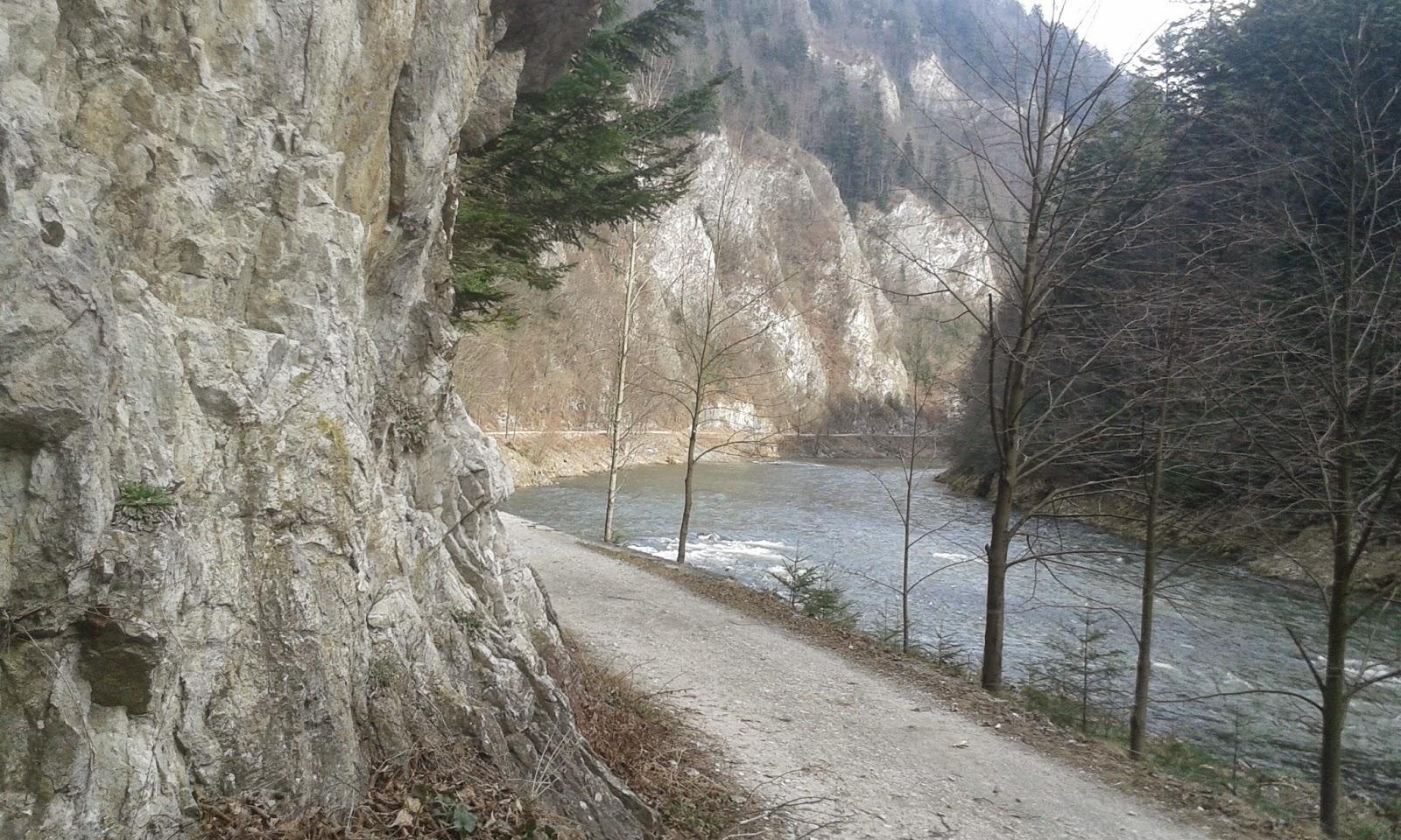 droga pienińska do Szczawnicy