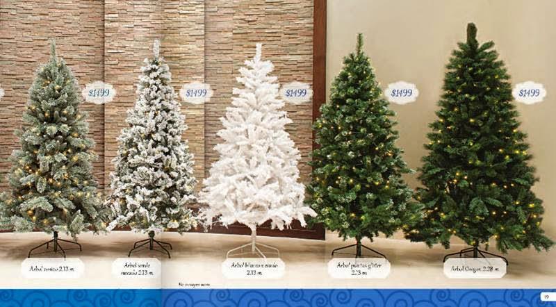 Walmart decoraci n navide a 2014 mexico - Arboles de navidad precios ...