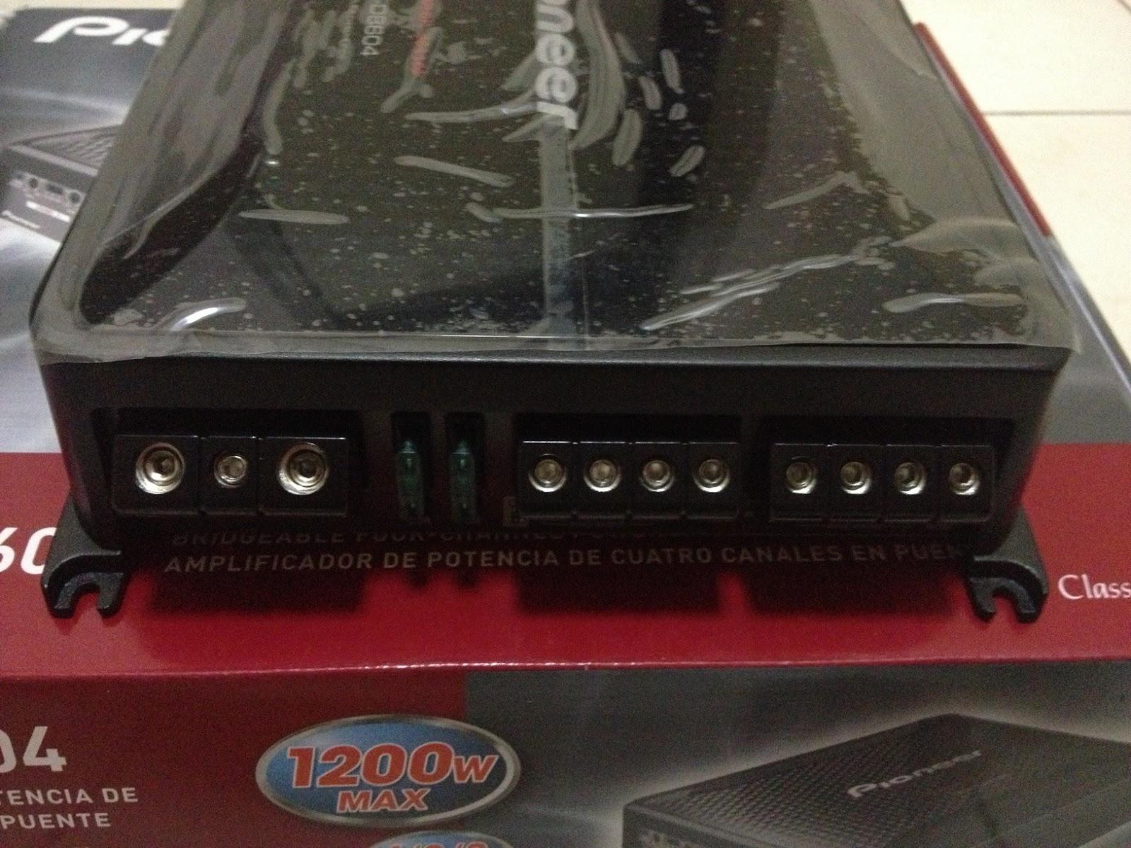pioneer gm d8604. pioneer gm d8604 rms class fd 4 channel amplifier (rm$780) pioneer gm 8