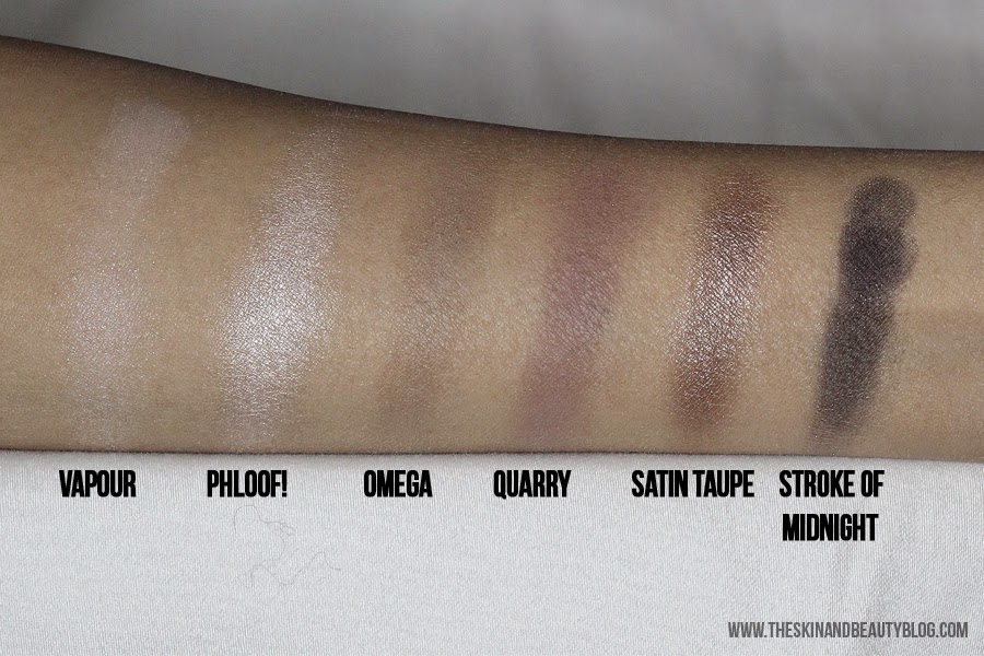 MAC Cinderella Stroke of Midnight Eyeshadow Palette Review Swatches