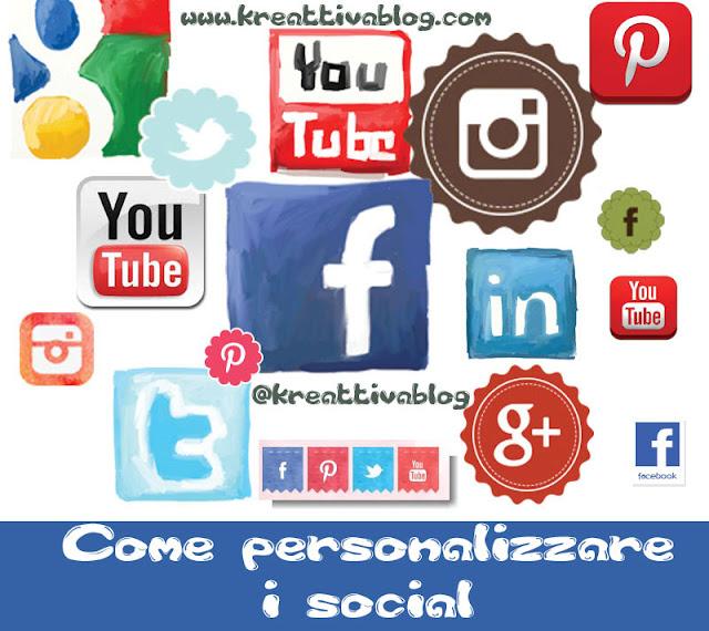 Come personalizzare i social