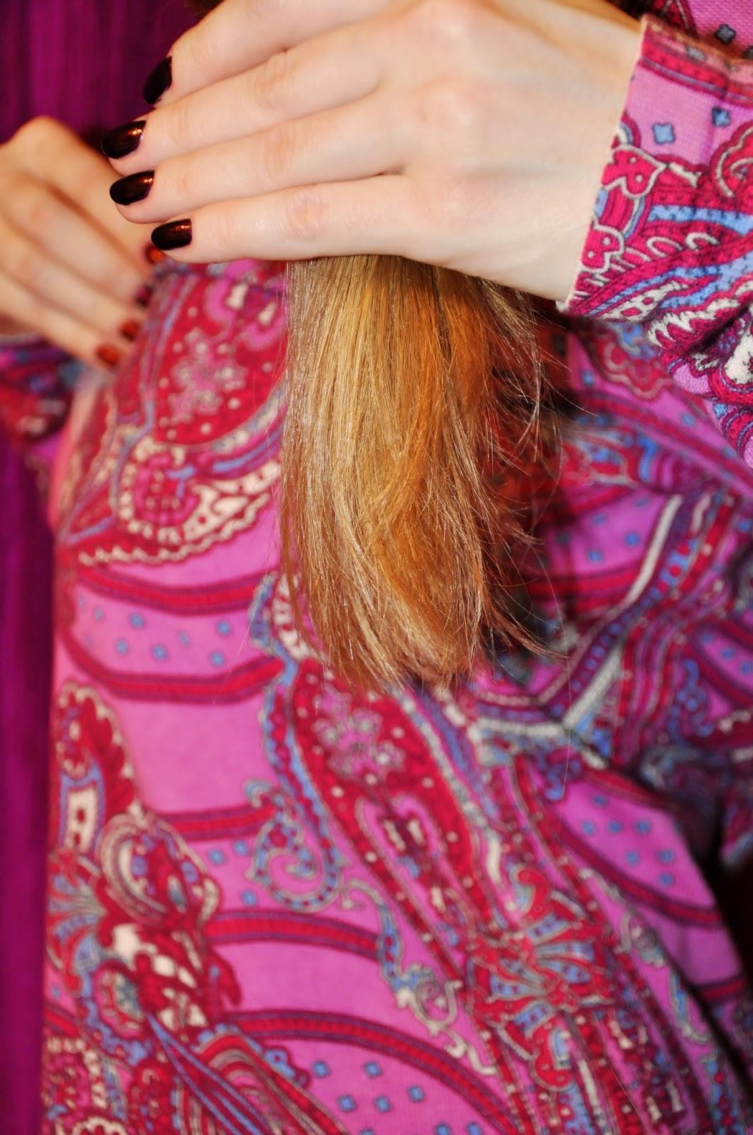 Волосы после шампуня DAVINES