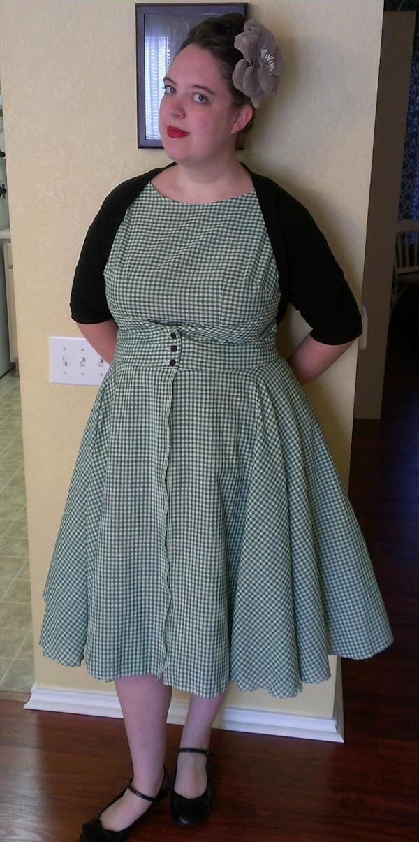 Walkaway Dress from a Pattern-phobe – WeSewRetro.com