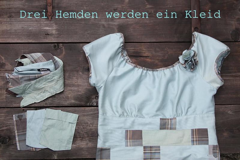 Kleid nahen aus hemd