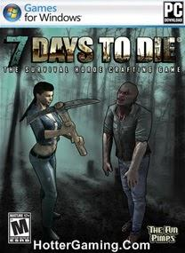 Free Download 7 Days to Die PC Game Cover Photo