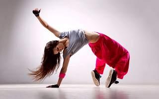 dans modern - fată