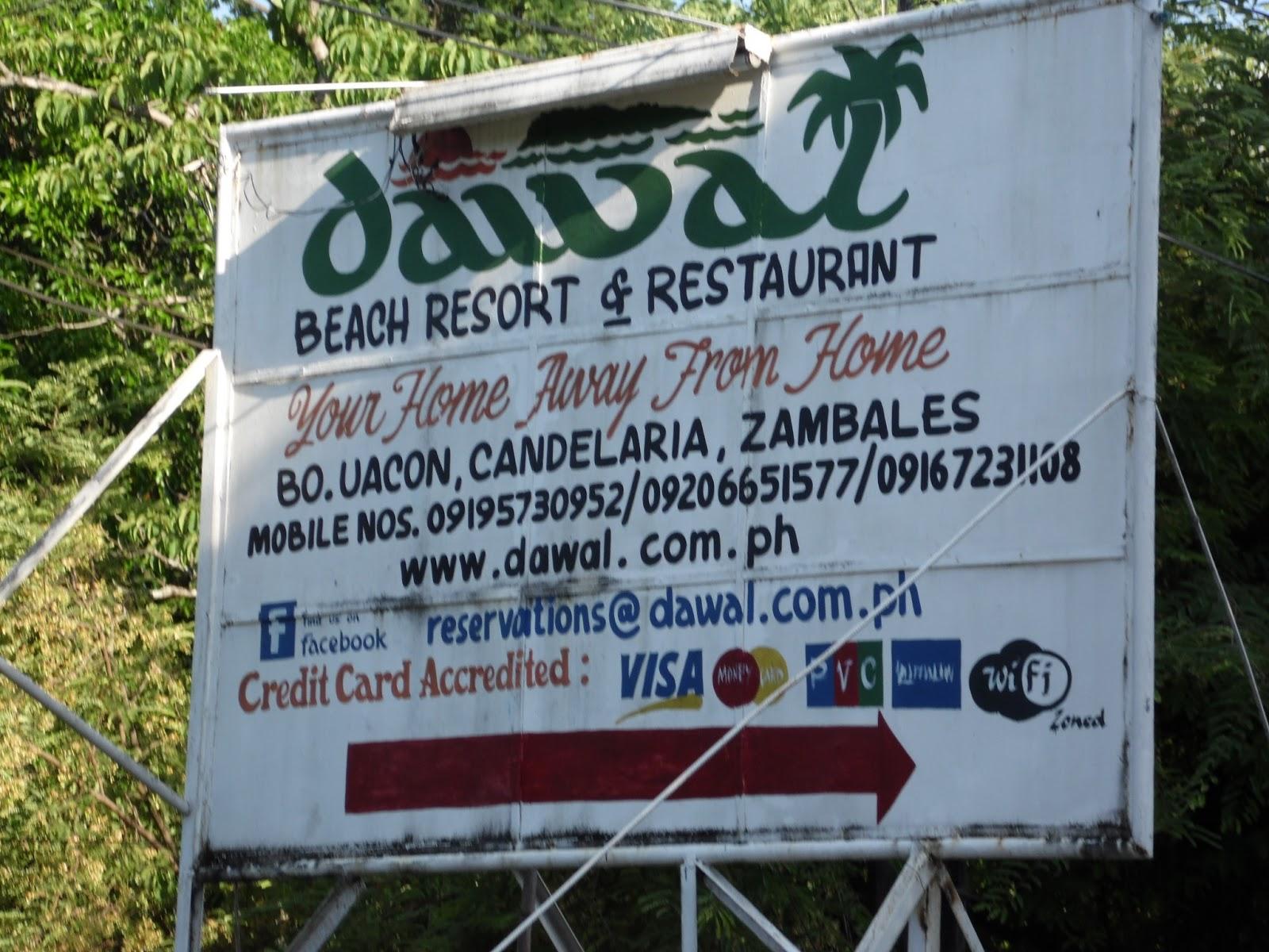 Dawal Beach Resort Zambales Rates
