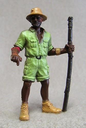 Australian Aboriginal Ranger Plastic Figurine