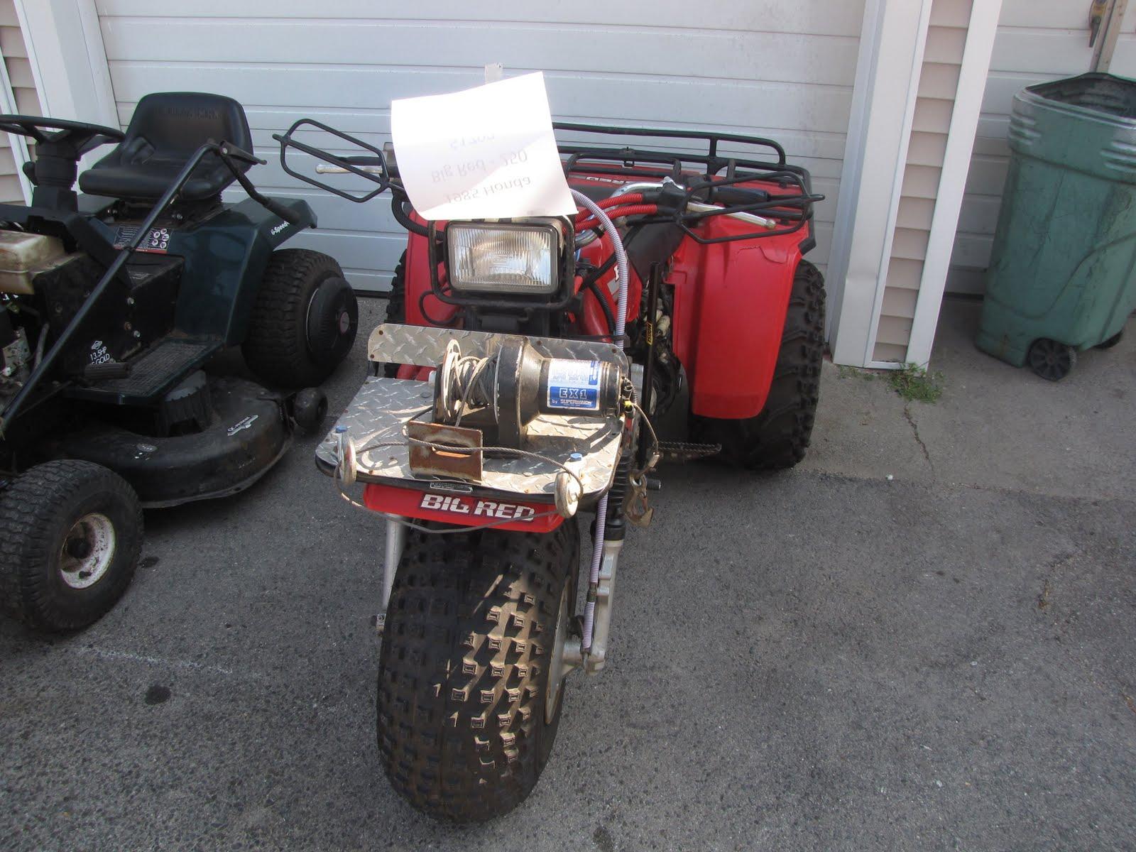 1985 Honda Big Red 250 Trike