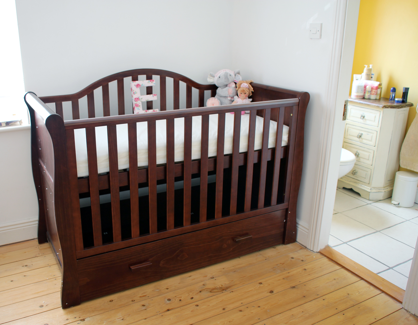 Here is the crib that we finally decided on i absolutely love it we were between this one which we had spotted a few months ago at the pregnancy baby