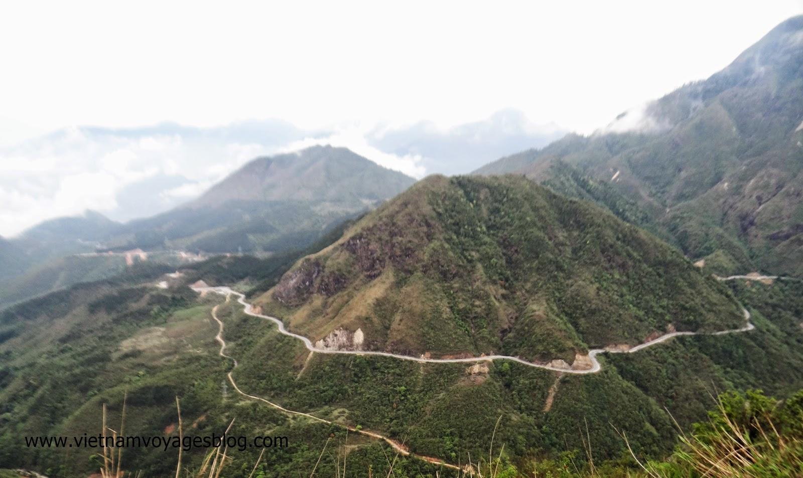 Phong cảnh núi rừng ở Tú Lệ, Yên Bái 2014