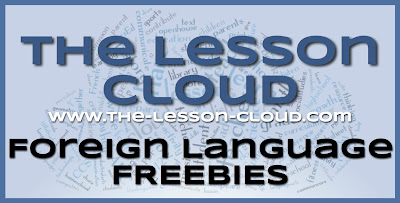 www.the-lesson-cloud.com Foreign Language Freebies