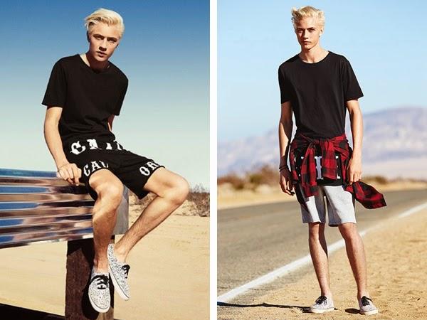 H&M Loves Coachella coleção masculina moda jovem festival