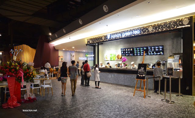 Nana's Green Tea First Modular Shop @ Midvalley Megamall Serving New Tatedora