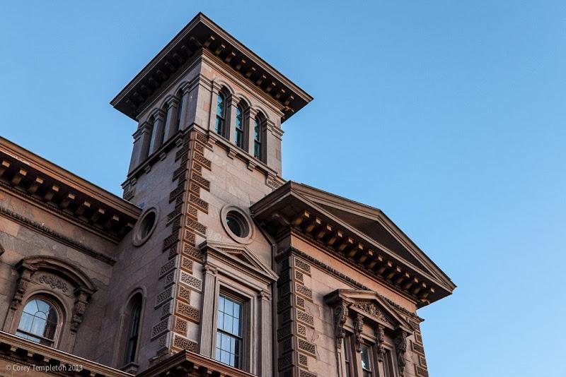 Portland, Maine Victoria Mansion. November 2013. Photo by Corey Templeton.