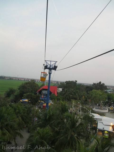 Cable car of Dreamworld Bangkok