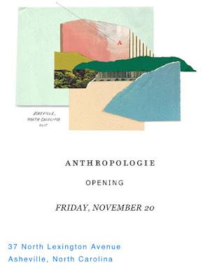 Anthropologie Asheville North Carolina
