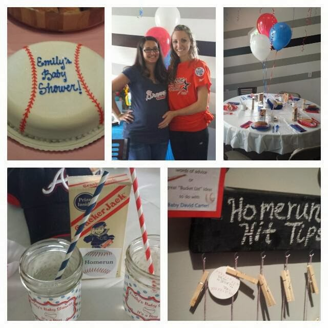 Lively Happenings: Baseball Baby Shower
