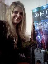 """Patrcia Millach, creadora de """" Arte Celta""""P.M."""