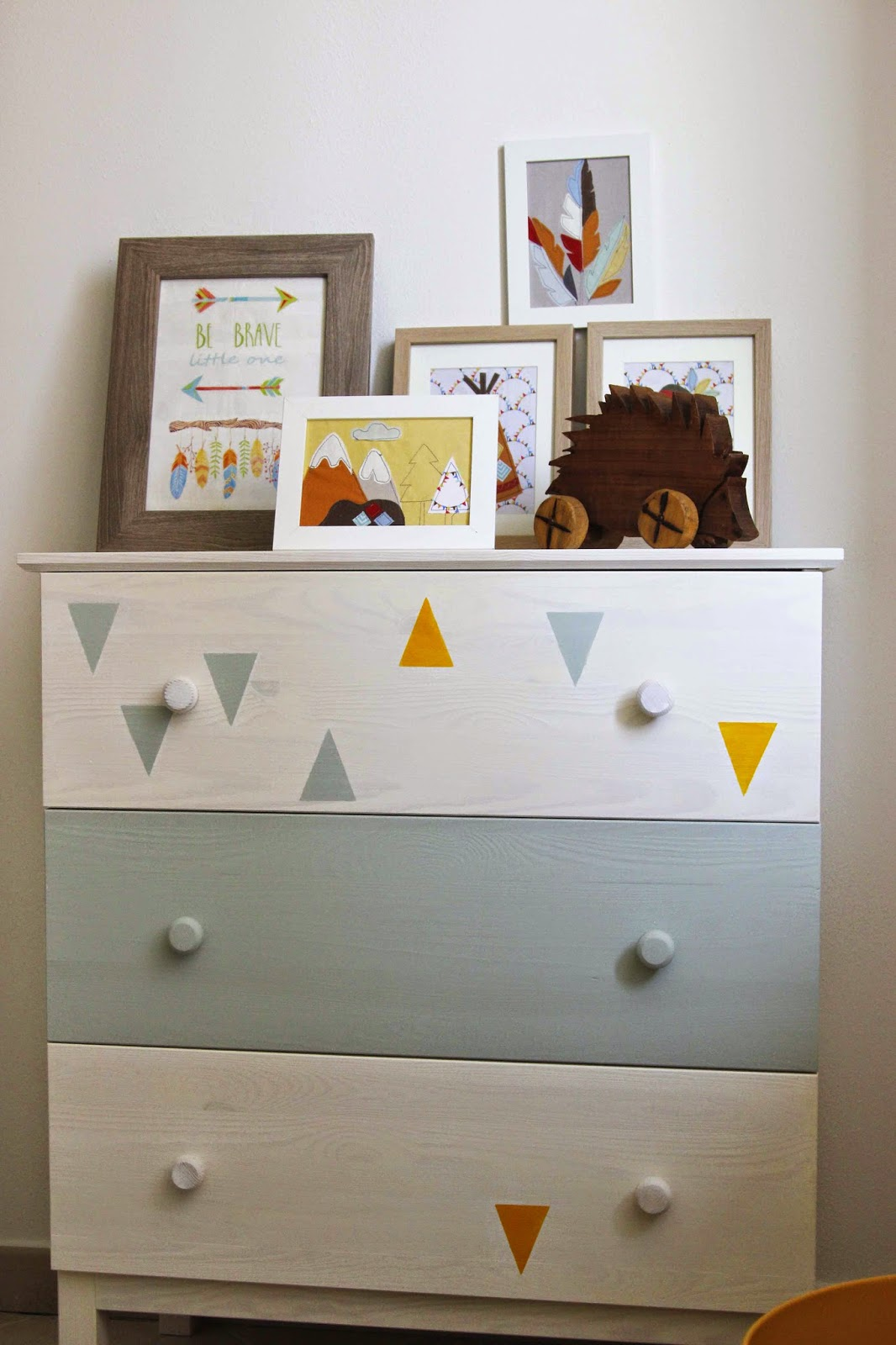 triangles nursery