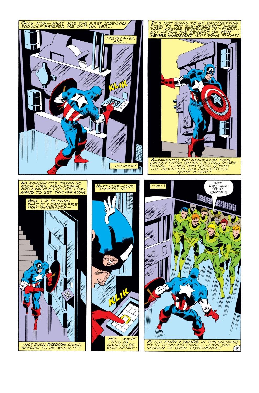 Captain America (1968) Issue #289 #205 - English 9