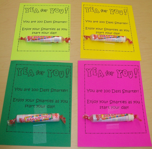 Your students are going to LOVE this FREE 100th Day of school printable! Use it with your preschool, Kindergarten, 1st, 2nd, 3rd, 4th, 5th, or 6th grade classroom or homeschool students. It's a great way to have a small treat and celebrate the day!