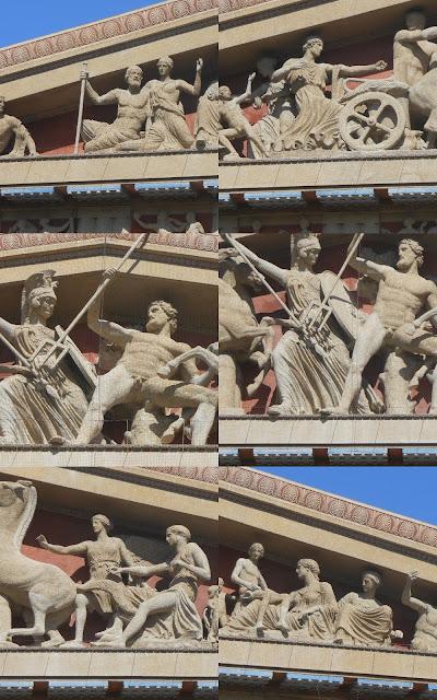 parthenon statues