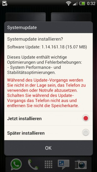 htc one x + software update 11416118