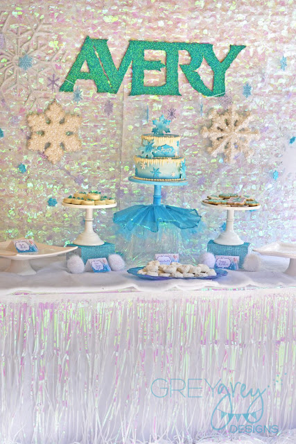 #frozenparty #frozen #letitgo #princessparty #greygreydesigns