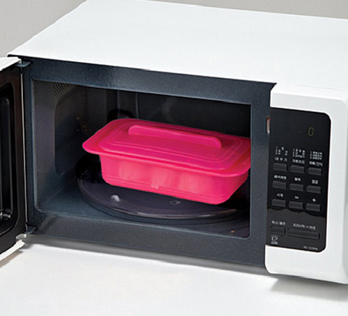 Microwave Silicone Rectangle Steamer