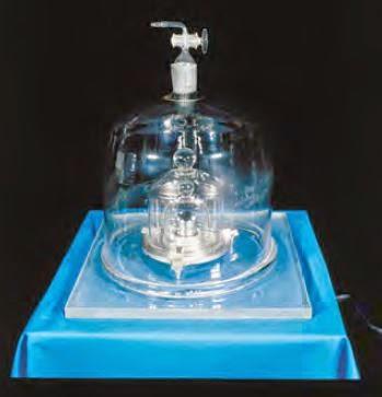 הקילוגרם התקני הבינלאומי הוא החפץ המתכתי סגור בזהירות בתוך מיכלי זכוכית
