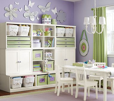 Pottery Barn Kids Cameron Creativity Storage System