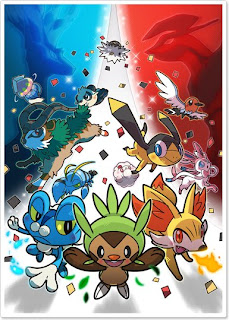 Pokemon XY preorder bonus XY world art book