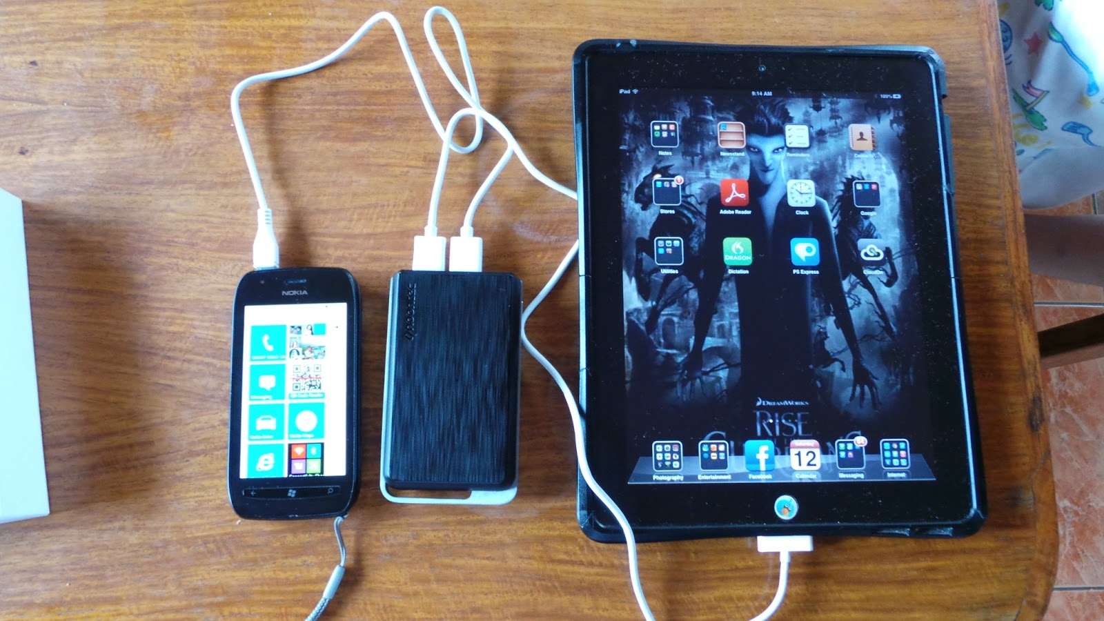 Power Bank can charge all devices